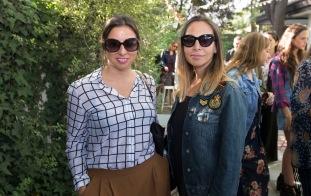 Francisca Sanchez y Carola Montenegro