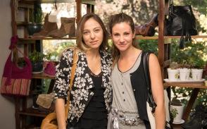 Mariana Derderian y Karyn Coo