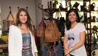 Pilar Soto y Dominique Baquedano