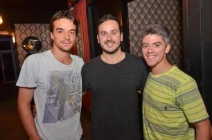 Sebastian Fontecilla, Sergio Rodriguez, Matias Aguirre_