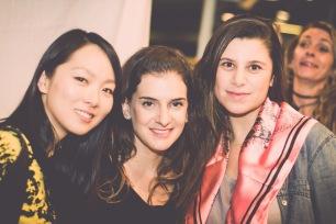 Sue Wang, Daniela Herzko, Carolina Carmine
