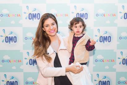 Camila Stuardo junto a su hija Maite