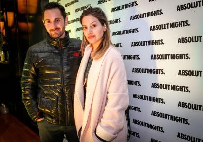 Santiago Tupper y Daniela Palavecino