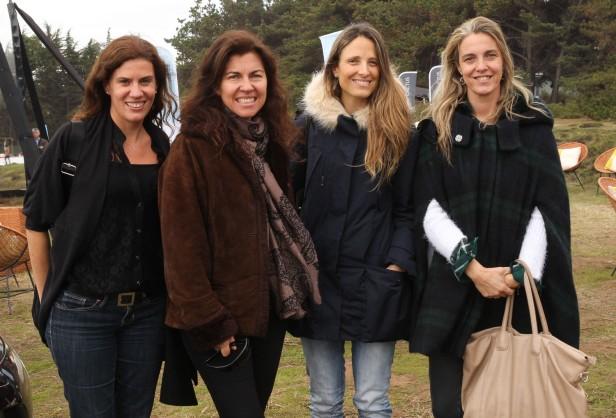 Soledad Trivelli, Marcia Escalona, Andrea Mutoli y Jesús Echeñique