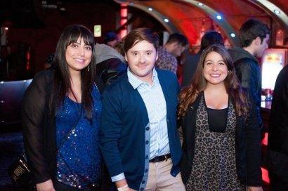 Camila Vega, Javier Vegas, Paola Quiroz