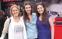 Lucila Leroux, María Eugenia Mladineo, María José Barrenechea