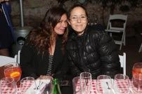Solange Lackington y Denise GreauA