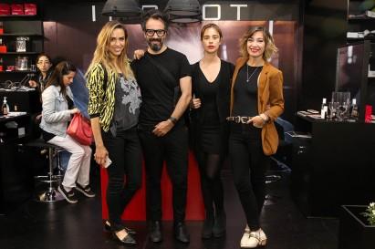 Valeria Ortega, Ramón González, Marcela del Valle y Camila Santa Ana