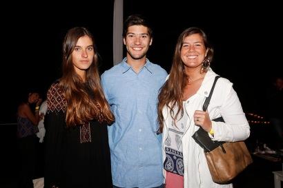 Gabriela Fuentes, Max Vial y María José Vial