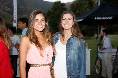 Gracia Gutierrez y Pascale Durán