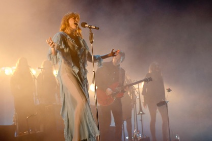 Lollapalooza 2016 Parque O´Higgins, Santiago, Chile. VTR Stage Florence & The Machine (Gabriel Rossi/Getty Images/Lotus Producciones)