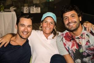 Mauricio Sanz, Nicole Perrot, Felipe Olavarría