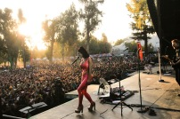 Lollapalooza 2016 Parque O´Higgins, Santiago, Chile. Escenario: Acer Windows Stage Banda: Marina And The Diamonds (Claudio Reyes/Getty Images/Lotus Producciones)