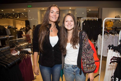 Alexandra Von Marees y Javiera Miranda