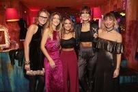 Elisa Moro, Luz Prieto, Maria de los Angeles Torres, Augusta Montt y Camila Santa Ana