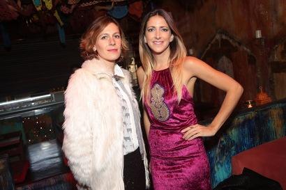 Isidora Maass y Luz Prieto