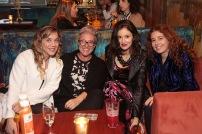 Vivian Lerner, Alejandra Ricciulli, Daniela Kirberg y Andrea Rutdan