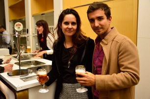 Francisca Cruz y Victor Leyton