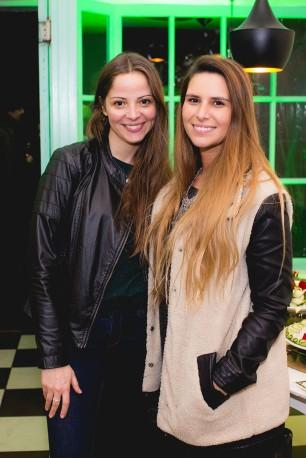 Andrea Lhuillier y Fran Arias