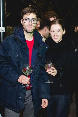 Claudio Robles y Nikita Marchant