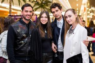 Crhistian Vargas, Daniela Muñoz, Gonzalo Raddatz y Isidora Winter