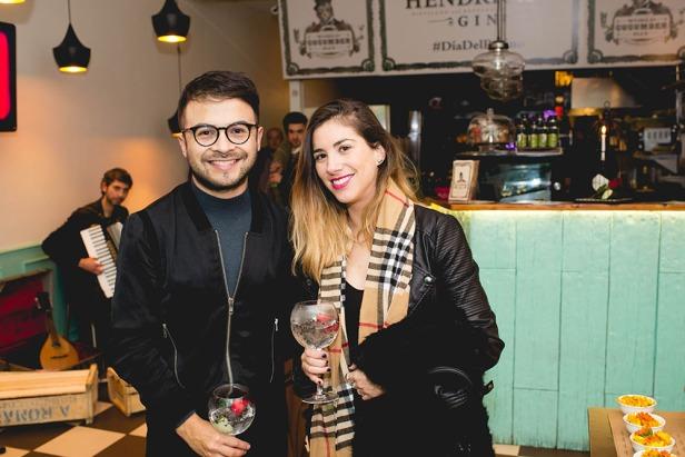 Daniel Pacheco y Camila Rios