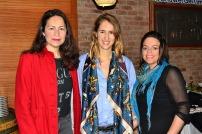 Patricia Leiva, Francisca Zuazola y Valerie Batikoff