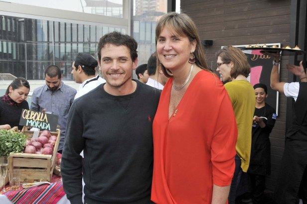 Rodolfo Guzmán e Inés Chocano