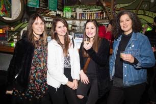 Yael Shabtai, Nicole Chattin, Gabriela Aguirre y Josefina Parodi