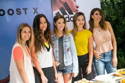 Camila Lopez, Adriana Aguayo, Catalina Vallejos, Daniela Palavecino, Mariana Marino-900x600