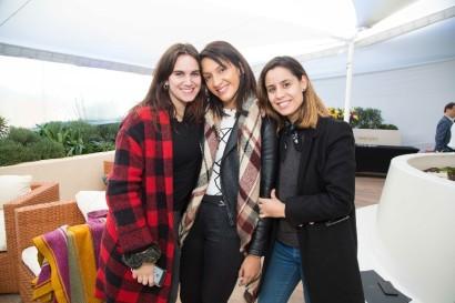 Elisa Herreros, Andrea Guerrero y Alejandra Pumarino-879x586