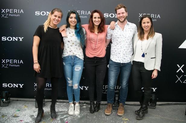 Josefa Vasquez, Isa Cuevas, Isi Urrejola, Felipe Sanchez y Magdalena Grunwaldt-1024x682